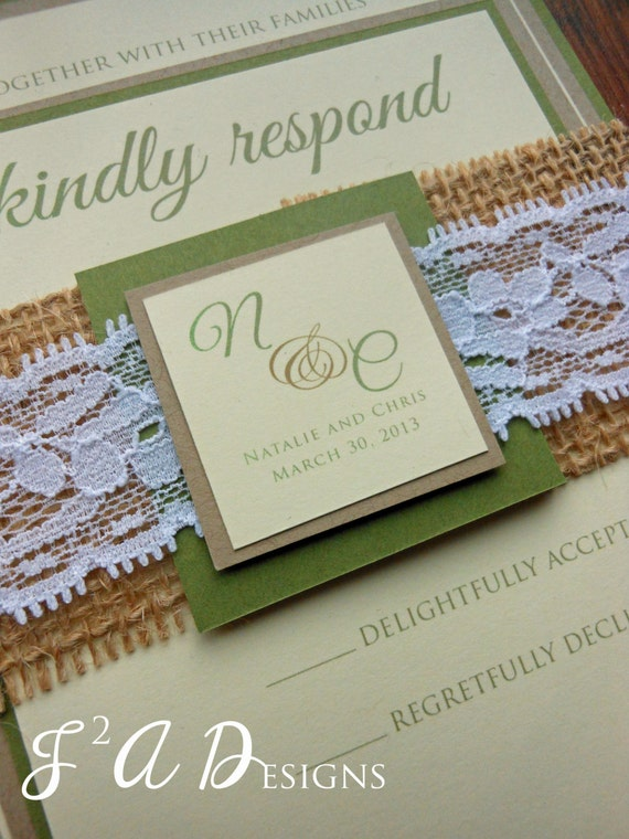 Wedding invitation rustic wedding burlap wedding barn wedding invitation rustic wedding burlap wedding barn wedding burlap and lace wedding country wedding invitation set invitation suite solutioingenieria Gallery
