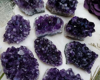 Grade A+ Amethyst Crystal Clusters