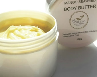 Age Defense Body Butter with Co Enzyme Q 10. Seaweed Infused . Natural and Organic Ingredients. Preservative Free, No Synthetic Ingredients.