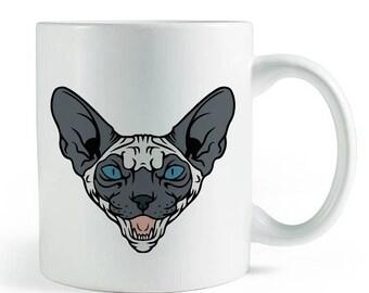 Seal Point Sphynx Mug