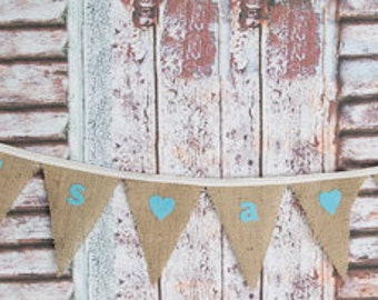 It's A Boy! Bunting perfect for a Christening, Baby Shower or New Baby Gift
