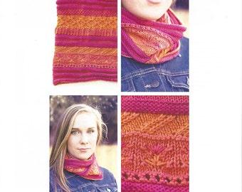 Gimli Peak Knitting Pattern by Jessie Ksanznak of SweetGeorgia Yarns knitting pattern for Party of Five mini skeins, knitting pattern