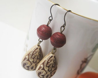 Bhairava ancient style earrings
