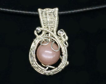 Sunstone in Sterling Silver to help you accept your flaws with love that heals