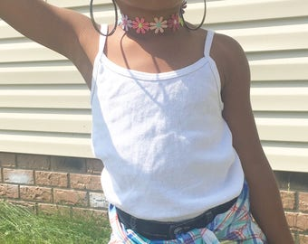 Flower Choker| Kids Choker| Girls Chokers| Kids Jewelry| Kids Necklace| Vintage Jewelry