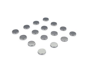 Adhesive Disc Magnets - Turn Objects Into Decorative Magnets - 16 Pack