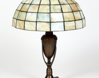 Bedside Lamp, Table Lamp, Bedside Decor, Office Lamp, Office Decor, Stained Glass Art, Stained Glass Lamp, Home Decor, Library Lights