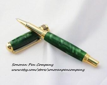 New Design Irish Green Rollerball pen