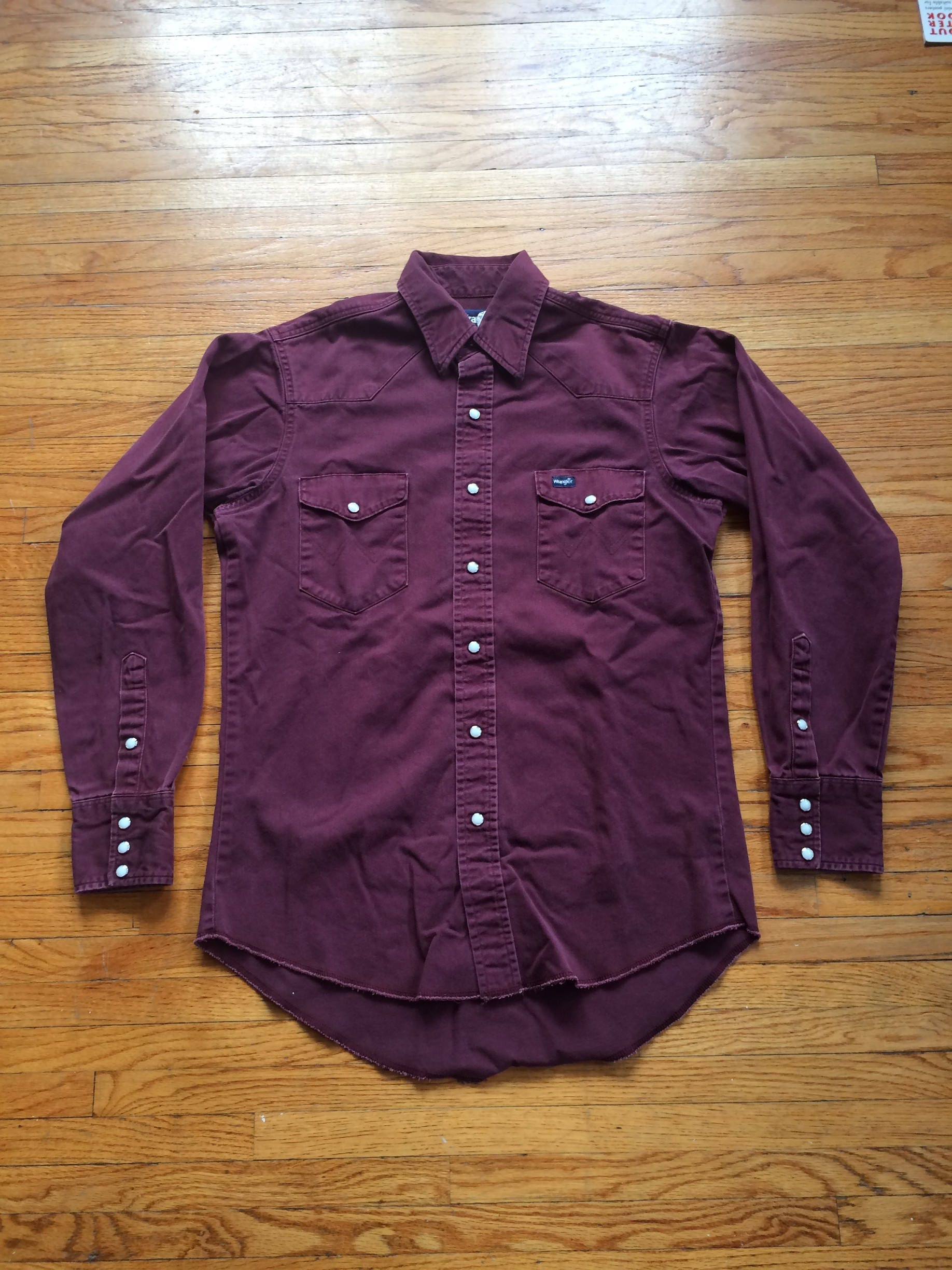 09f74cce460 Vintage Western Shirt Pearl Snaps - BCD Tofu House