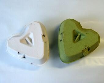 10 Egg Cartons Gift Box - 3 Holding Type Egg Carton Heart Shape