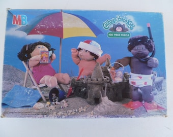 Cabbage Patch Kids Puzzle 1984