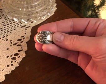 1900's Spoon Ring (Daisy)