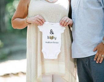 Pregnancy Announcement Onesie - Baby Announcement - Baby Onesie Announcement - Baby Reveal Onesie - Baby Reveal Ideas - Coming Soon