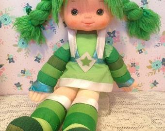 "Vintage Rainbow Brite Patty O'Green plush ~18""~"