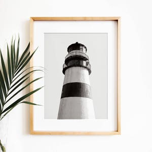 Lighthouse Print PRINTABLE Art,nautical Print,black U0026 White Print,lighthouse  Art,