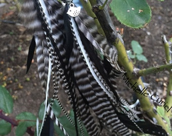 Extra long and Full Feather Earrings