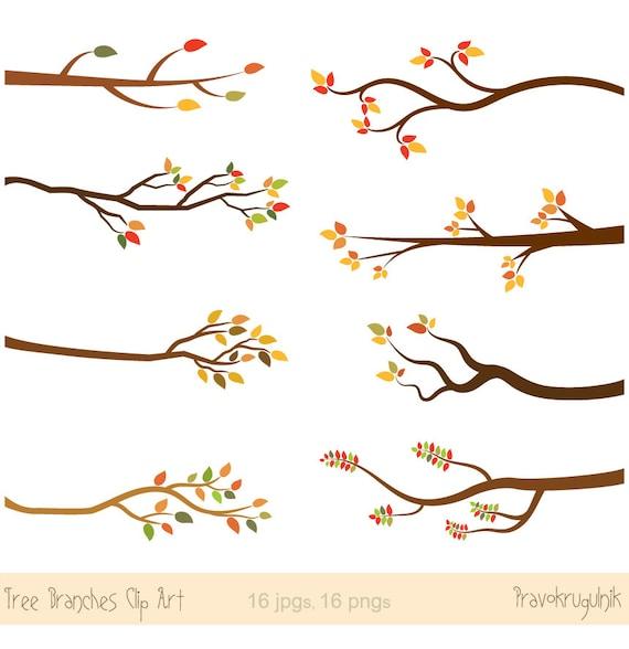 fall branches clipart autumn branch clip art tree branch rh etsy com tree branches clipart branches clipart free