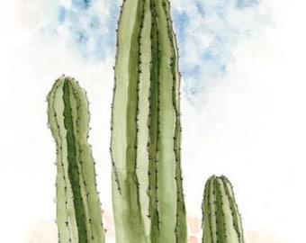 Digital Download Cactus // Cactus print // Southwest // desert print // digital print