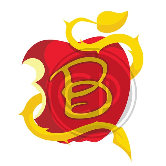 Descendants apple letter b spiritdancerdesigns Choice Image