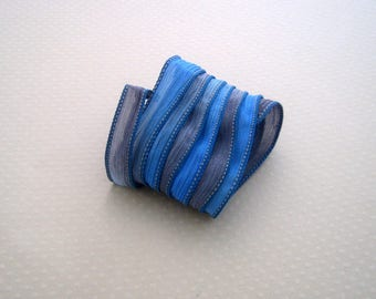 N color hand dyed silk ribbon (400)