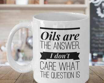 Essential Oils Gift, Oily Gift, Essential Oil Mug, Essential Oils Cup, Herbal Tea Infusion, Best Coffee Cup, Quality Mug, Statement Mug