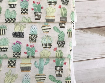 Cactus Hoedown in Tan from Michael Miller Fabrics