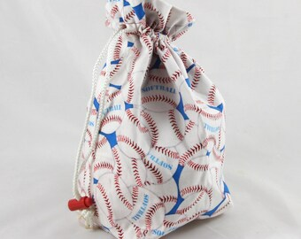 Swingin' Softballs - Little Project Bag