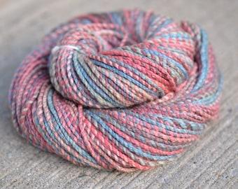 Tuscadero - merino/silk cable ply handspun yarn - bulky weight, 105 yards