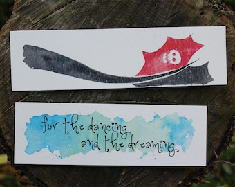 HTTYD Watercolor Bookmarks
