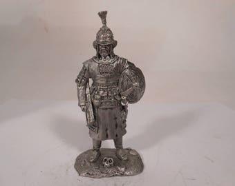 Tin, 54mm,  Tatar Latnik, 12-13 century. The Times of the Golden Horde.