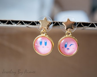 Kirby Star Drop Earrings - Mix and Match!