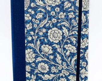 Flores silvestres portátil - azul A5