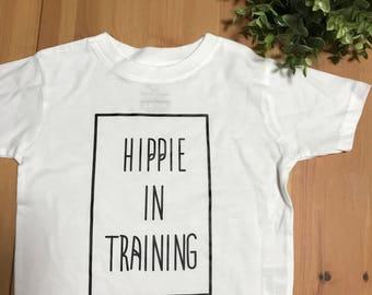 Hippie in Training Kid's Shirt