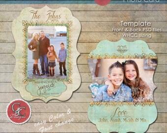 Christmas Photo Card-C&C Christmas Photo Card Selection #120 *Instant Download*