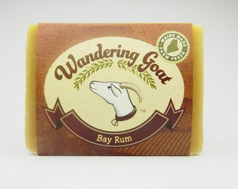 Bay Rum Goat Milk Soap