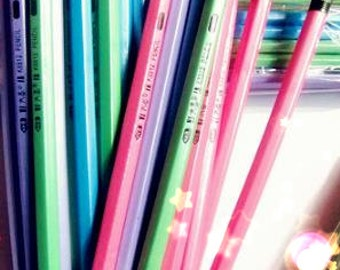Colorful Pencil / Never write off pencil (Each one order come with TWO pencils )