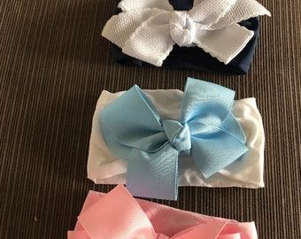 Hair bows for baby girls