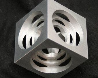CNC Machined Turner's Cube