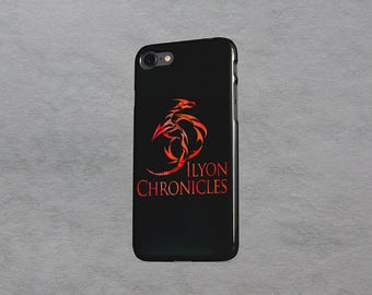 Ilyon Chronicles Red Dragon iPhone Case