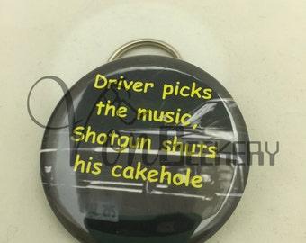 Driver picks the music Bottle Opener