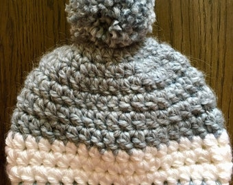 Chunky Crochet Winter Hat