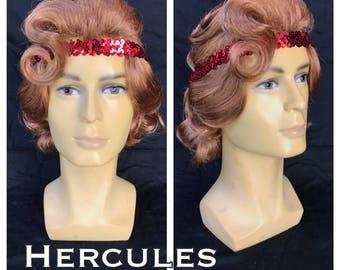 Hercules Adult Men's Costume Wig -  A True Enchantment Original