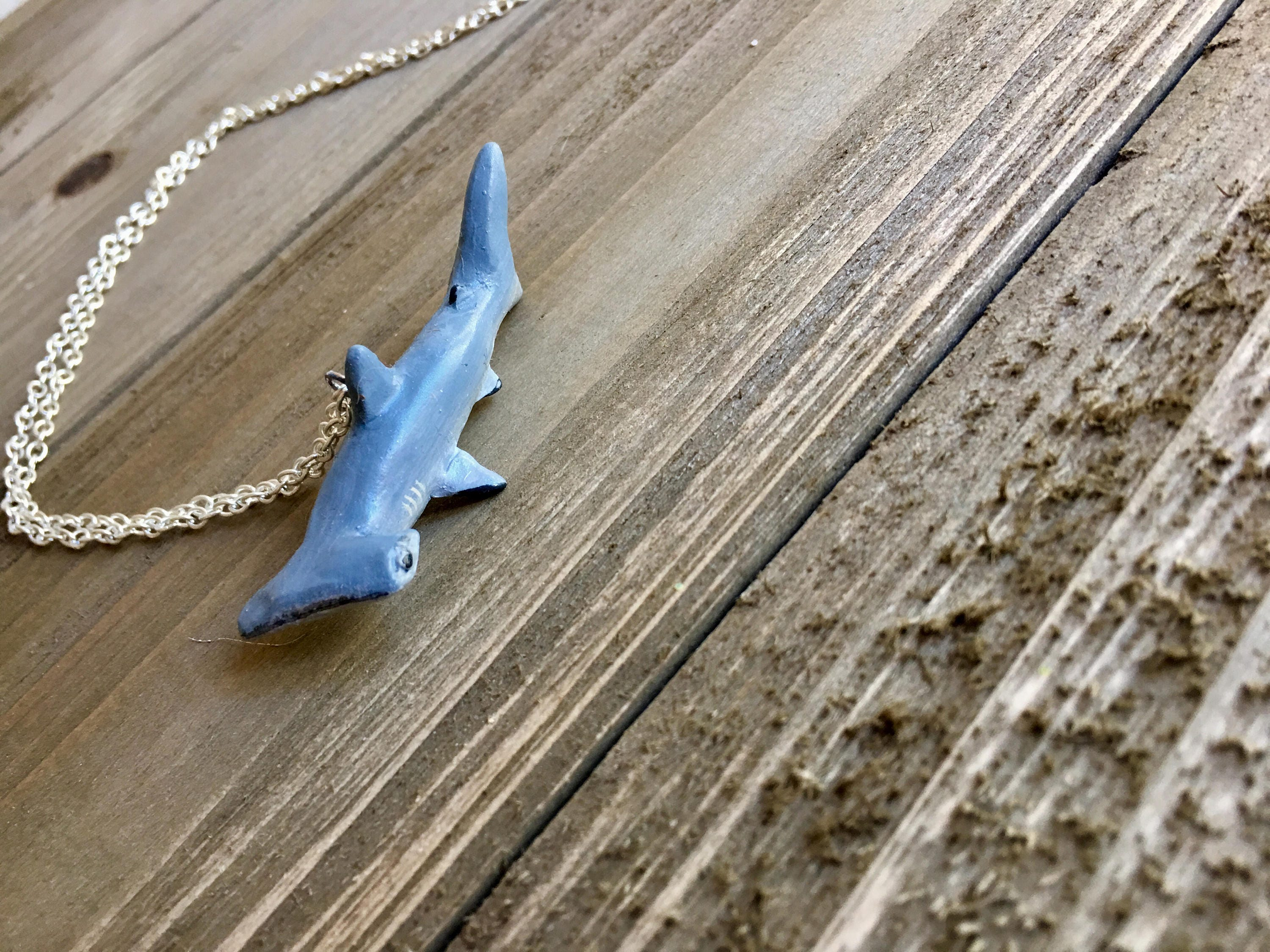 jnt whale pewter chain ebay jewelry killer necklace charm shark silver pendant hammerhead itm