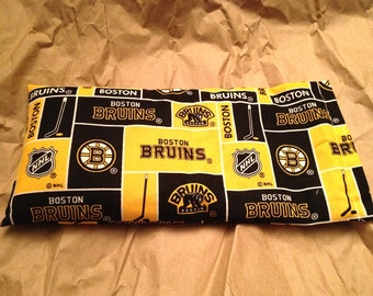 Boston Bruins Fabric Heating Pad or Headache Soother