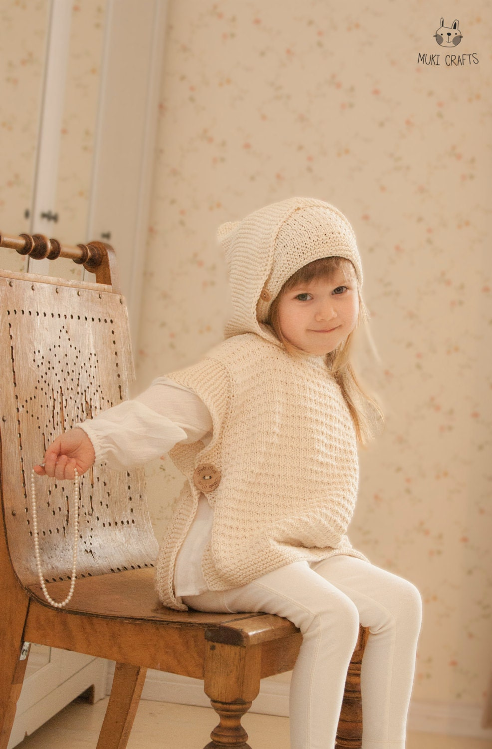 Luxury Knitting Pattern Poncho Child Mold - Blanket Knitting Pattern ...