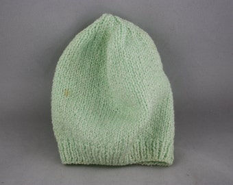 hats, toddler hats, mint green hats, green hats, childre's hats, hand knit hats, knit hats, stretchy hats