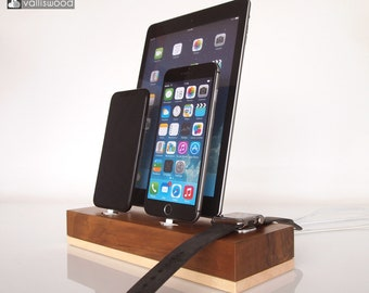 iPhone/iPad/iWatch/AirPods dock - Apple Watch dock, iPhone 7, iPhone 8, iPhone x dock, iPad 9.7 dock, iPad Air, iPad 10, gift ideas, present