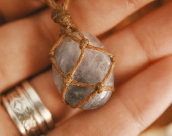 Tumbled Flourite Necklace