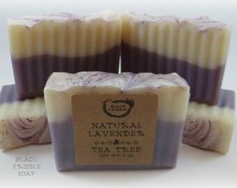 Natural Lavender & Tea Tree soap