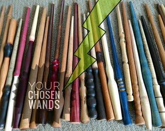 Custom Wand / Magic Wand / Multiple Wands / Party Supplies / Fairy Wand / Wood Wand / Handmade Wand / Personalized Wand / Absolutely Adrian
